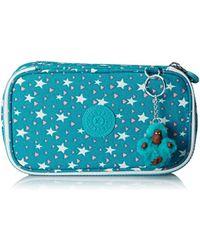 Kipling 50 PENS Astuccio, 21 cm, 1 liters, Multicolore (Cool Star Girl) - Blu