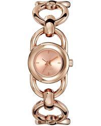 Esprit Montre - Quartz Analogique - Cadran Doré - Bracelet Acier plaqué - Multicolore