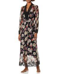 Emporio Armani Kimono Robe - Black