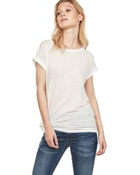 G-Star RAW Luge Knotted T-shirt - Natural