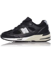 New Balance - Chaussures noires M 991 - Lyst