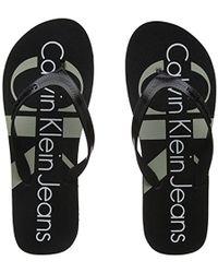 Calvin Klein - Dash Jelly Flip Flops - Lyst