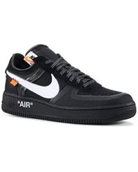 Nike The 10: Air Force 1 Low Trainers - Black