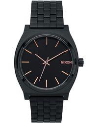 Nixon Time Teller Black/rose Gold 's Watch