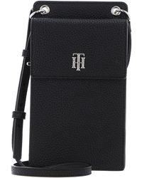 Tommy Hilfiger TH Elevated Phone Wallet Black - Noir