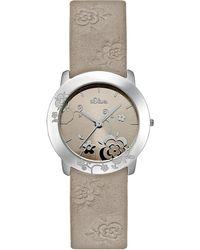 S.oliver Uhr SO-1961-LQ - Natur