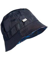 Superdry Nylon Reversible Bucket Hat Gorro Estilo Pescador - Azul