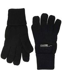 Superdry Orange Label Glove Guantes para Hombre - Negro