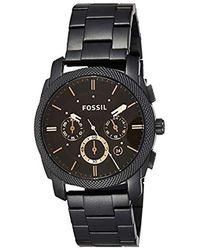 Fossil Machine Armbanduhr - Mehrfarbig