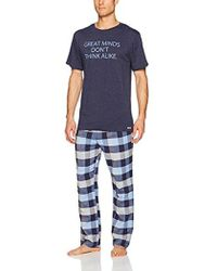 Kenneth Cole Reaction - Jersey And Brushed Flannel Gift Set - Lyst