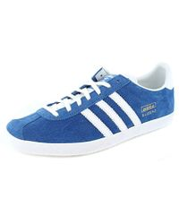 adidas Originals Gazelle Indoor Trainers in Blue for Men Lyst
