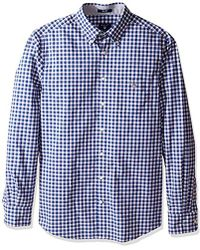 GANT - Tech Prep Broadcloth Plaid Shirt - Lyst