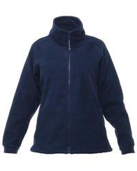 Regatta Ladies Thor Iii Fleece Colour=dark Navy Size=16 - Blue