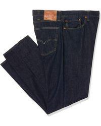 Levi's 502 Regular Taper Jean fuseau - Bleu