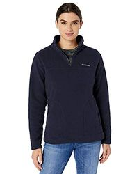 Columbia Canyon Point Sherpa Pullover - Blue