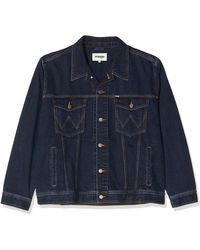 Wrangler Denim Jacket - Blue