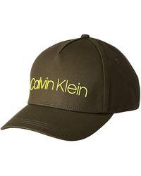 Calvin Klein Sliver Contrast Trucker cap Berretto da Baseball - Verde