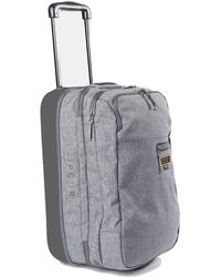 Rip Curl F-light Cabin Cordura Suitcases - Grey