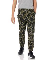 Amazon Essentials Pantalon de Jogging ajusté. Casual-Pants - Vert