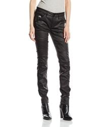 G-Star RAW 5620 Custom Mid Skinny Wm Distro Black Super Stretch