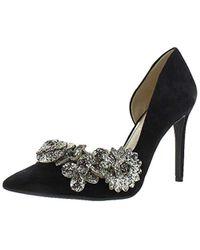 5a901e0b140 Lyst - Steve Madden Women s Raela Ankle-wrap Pumps in Black