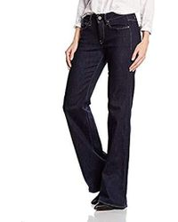 G-Star RAW Damen 3301 High Waist Flare Jeans - Blau