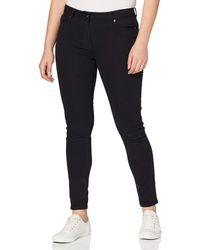 FIND Animal Jacquard Jeans Skinny - Nero
