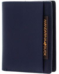 Mandarina Duck Dual High Wallet XS Eclipse - Blu
