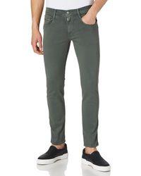 Replay Anbass Hyperflex Colour Xlite Jeans - Vert