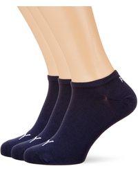 PUMA Sneaker Plain 3p Calze Sportive - Blu