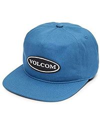 Volcom - Hard Core In 94  5 Panel Adjustable Snap Back Hat - Lyst 46172a7bae36