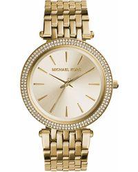 Michael Kors Darci Three Hand Wrist Watch - Metallic