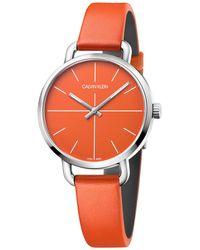 Calvin Klein Orologio Donna - Arancione
