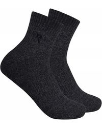Timberland - 2-pack Half Cushioned Quarter Socks - Lyst