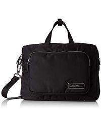 Calvin Klein Primary 1 Gusset Laptop Bag, Sacs pour ordinateur portable homme, Noir (Black)