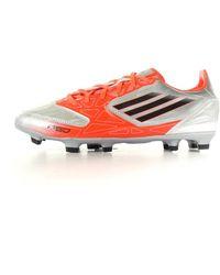 adidas Performance Fußballschuhe F10 TRX FG silber 8 - Grau