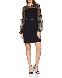 Liu Jo Lace Dress Vestito Donna - Nero