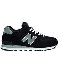 New Balance M574 Unisex-Erwachsene Sneakers - Schwarz