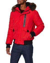 Superdry Everest Chaqueta Bomber - Rojo