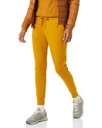 Amazon Essentials French Terry Fleece Jogger Sweatpant - Amarillo