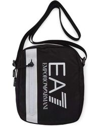 Emporio Armani EA7 Train Core Small Pouch Bag Black/White - Schwarz