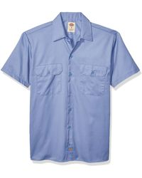 Dickies Short-sleeve Work Shirt - Green
