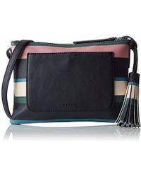 Esprit - 087ea1o030, 's Shoulder Bag, Blau (navy), 2x17,5x25 Cm (b X H T) - Lyst