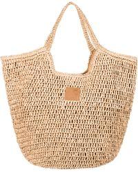 Roxy Sonnenschein Strandtasche aus Stroh - Mehrfarbig