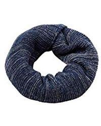 Esprit - Accessoires 117ea2q008 Echarpe, Bleu (Navy 400) - Lyst