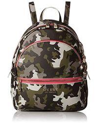 Guess - Womens Manhattan Camo Backpack - Lyst