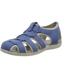 Geox D Sandal Vega D - Azul