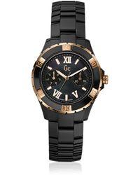 Guess Reloj Analógico para Mujer de Cuarzo con Correa en Acero Inoxidable X35015L4S - Multicolor