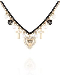 Guess - Charmy Necklace - Lyst