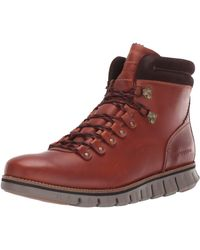 Cole Haan Zerogrand Hiker Waterproof Hiking Boot - Brown